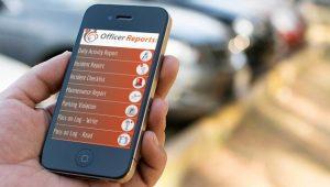 Echelon officer reporting app