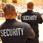 2 security agents at basketball game_1